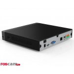 Rejestrator IP Foscam FN3109H (do 9 kamer IP, 1 x SATA, 2 x USB, HDMI, VGA,  czarny)
